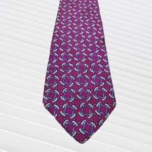 Brooks Brothers Makers Red & Blue Silk Tie